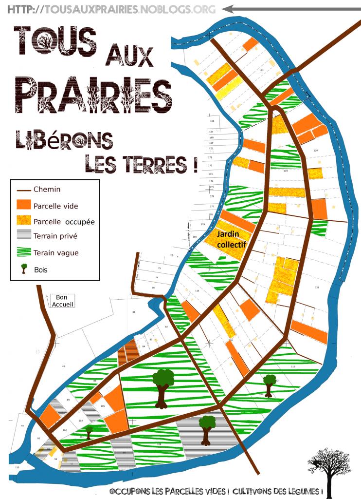 Plan des Prairies St Martin actualisé